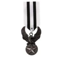 Medalis Black Star Eagle, 8x3cm