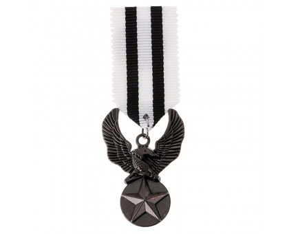 Medalis Black Star Eagle, 8x3cm