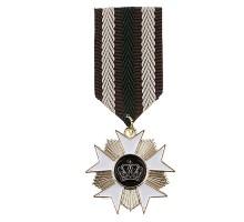 Medalis Gold White Cross, 8x3cm