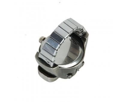 Žiedas kvarcinis laikrodis Skull, universalaus dydžio