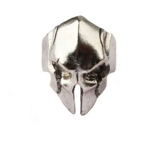 Žiedas Odin Helmet Silver, universalaus dydžio
