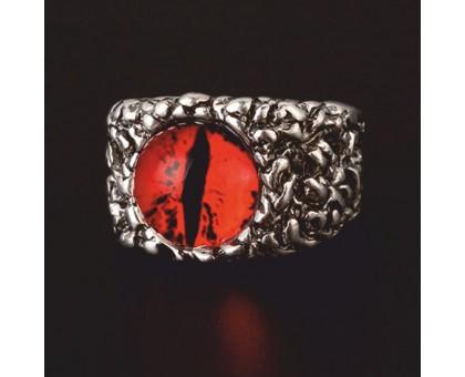 Žiedas Snake Eye Red, universalaus dydžio