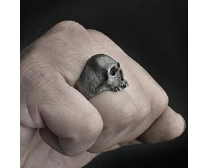 Žiedas Kaukolė be dantuko; 19, 19.5, 20.5, 21.5, 22, 23