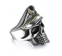 Žiedas Officer Skull, universalaus dydžio