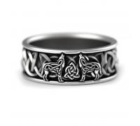 Žiedas Viking Wolfs; 18, 19, 20, 20.5, 21.5